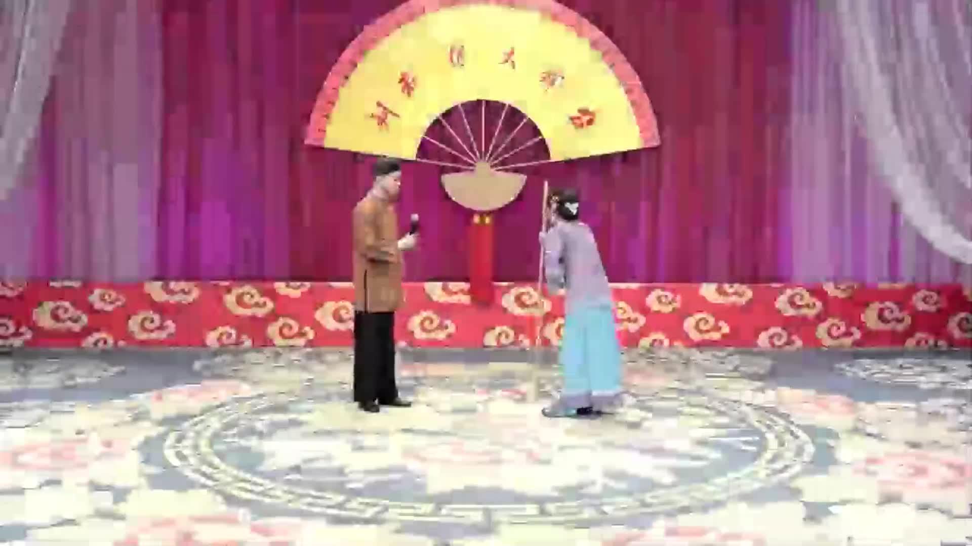 赵家班东北传统二人转:《包公断后》小帽,演员:李大国、张可