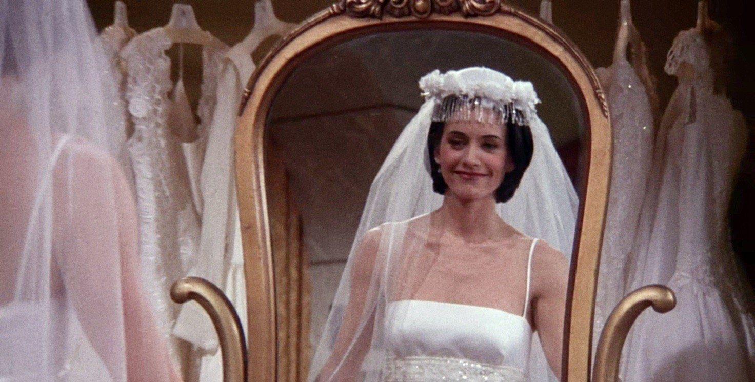 老友记:穿婚纱的女人最美