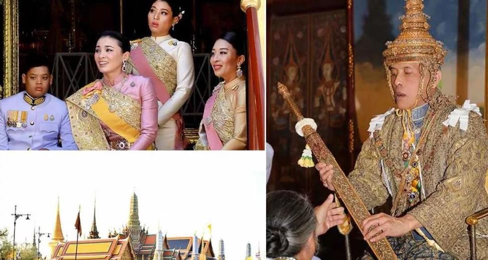 41岁泰国王后私下穿皮衣,配高跟鞋超时髦,玛哈国王竟成妻子陪衬