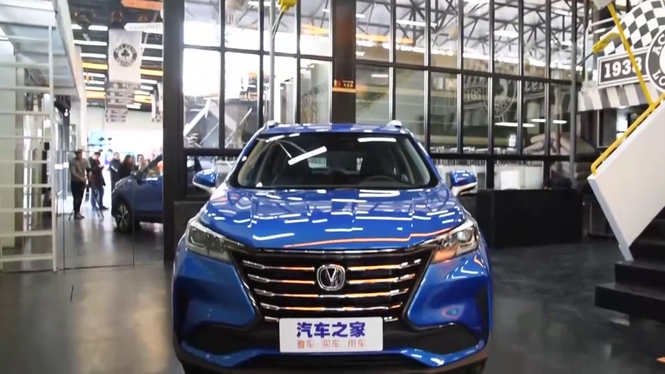 视频:新款CS15这款车可以说是长安的颜值巅峰了吧~