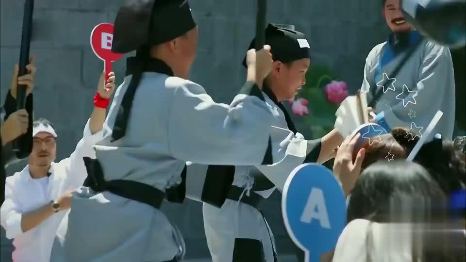 答对也要挨打,陈妍希怒了,直喊要回家!