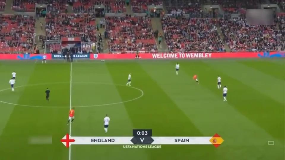 恩里克首秀,卢克肖伤退,西班牙逆转英格兰