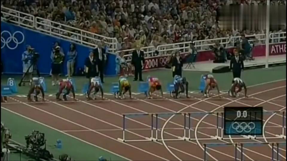 当年的刘翔雅典夺冠历程,解说员非常激动直呼刘翔赢了,刘翔赢了