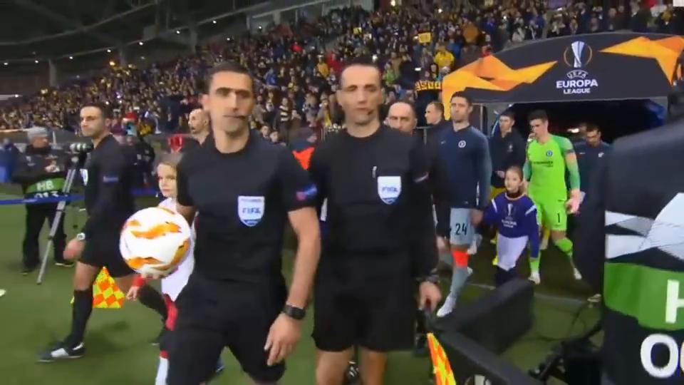 欧联杯-吉鲁破球荒切尔西1-0胜鲍里索夫提前出线