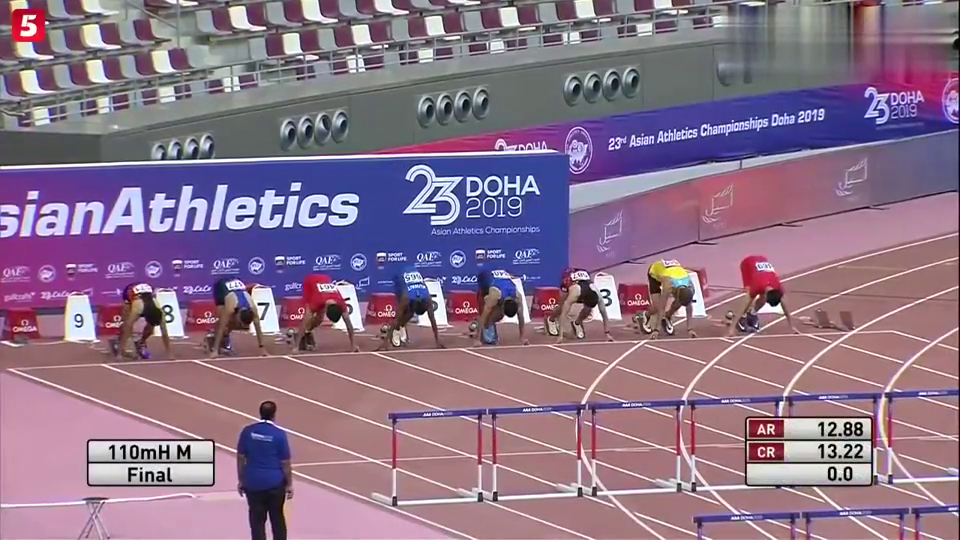 0.01秒,谢文俊破刘翔记录,真乃亚洲跨栏第一人!