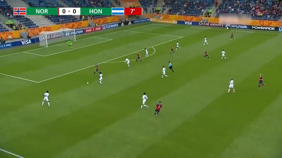 今早世青赛挪威12-0洪都拉斯,奇耻大辱,但人家没有踩奖杯!