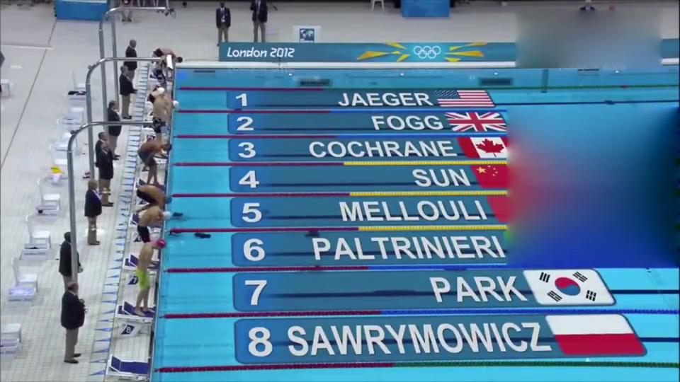 游泳:孙杨伦敦奥运会1500米打破世界纪录!