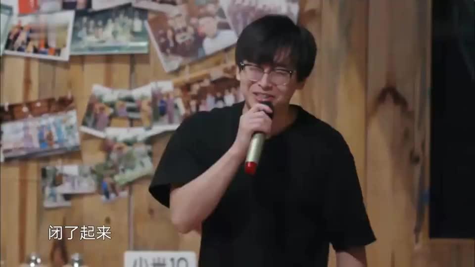 彭昱畅摇滚风表演再次上线,最后的广告植入笑翻黄磊!