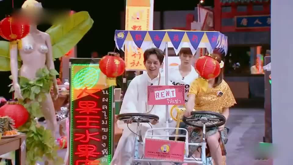 《明星大侦探》何炅陈意涵公开关系甜炸屏,王嘉尔成了崽崽?