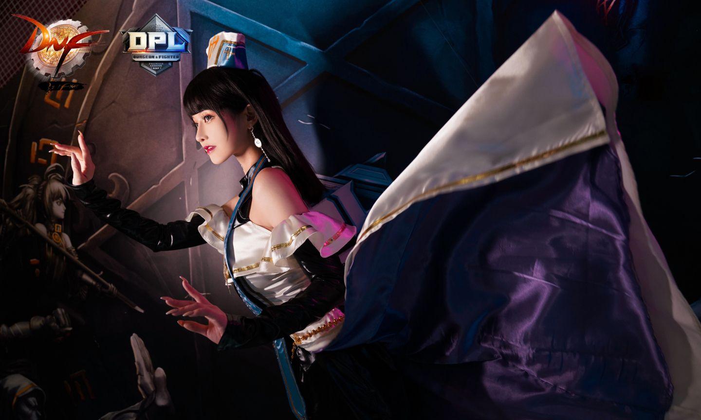 地下城与勇士女圣职者cosplay