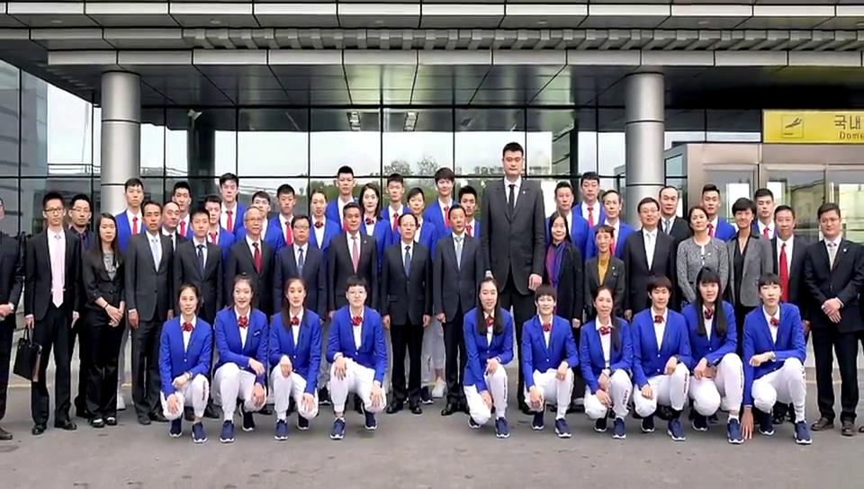 姚明李楠都去了!中国男女篮队将和这支神秘之师打混编友谊赛