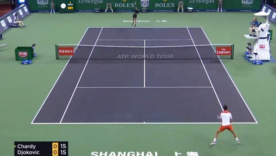 上海大师赛小德两盘完胜查迪进16强