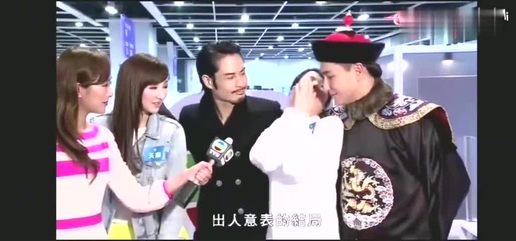杨怡接受访问罗仲谦乱入肉麻到郑嘉颖都说没眼看
