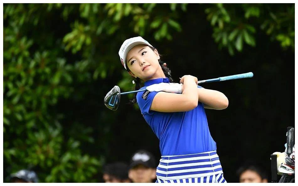 高尔夫女神石昱婷,日本出生入籍中国,面对邀请豪言:我是中国人