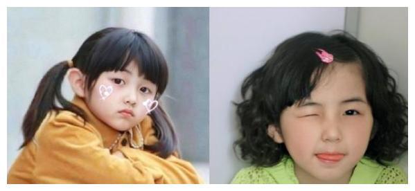 女明星小时候是有多可爱,张子枫,热巴,看到鞠婧祎:证明了自己