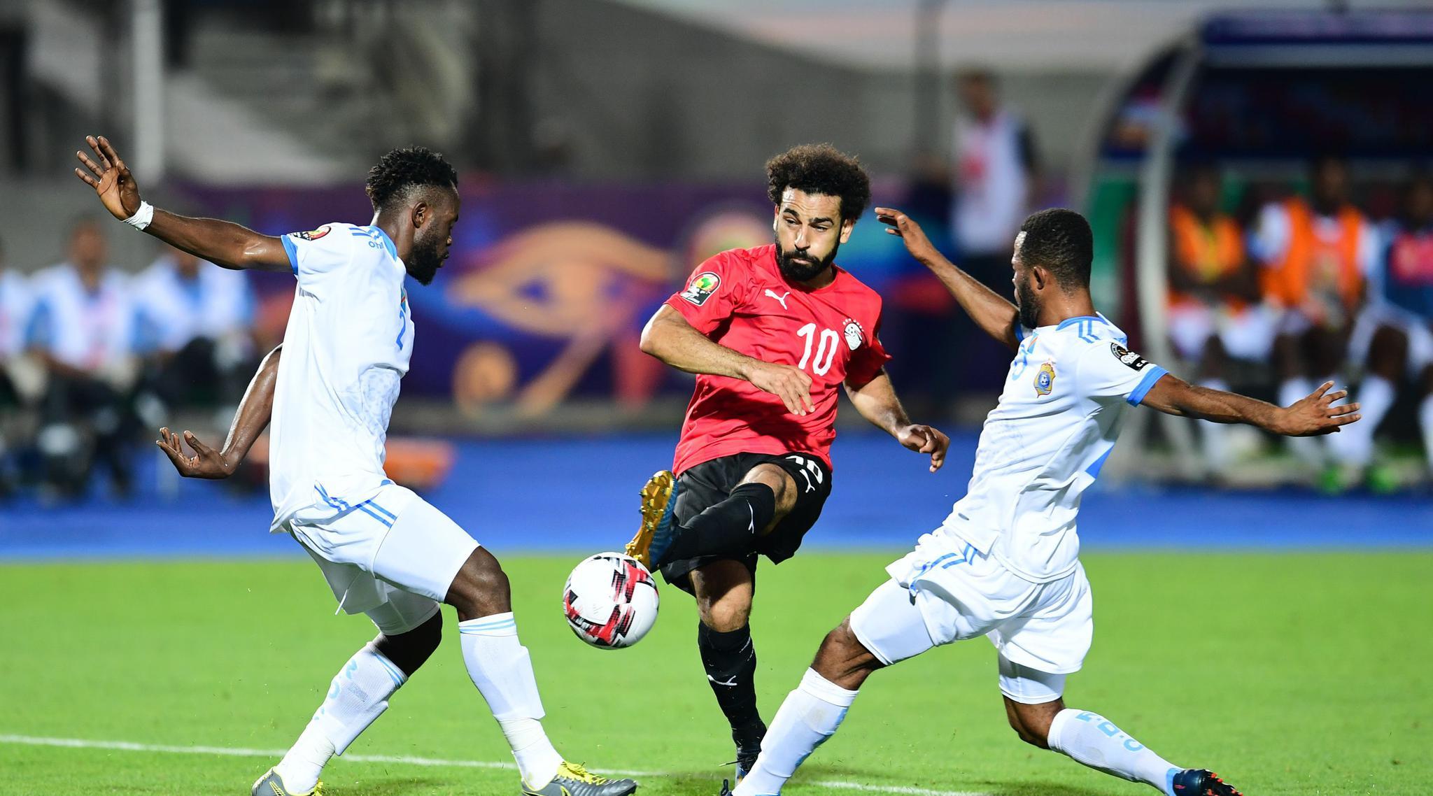 足球——非洲杯:埃及胜刚果(金)
