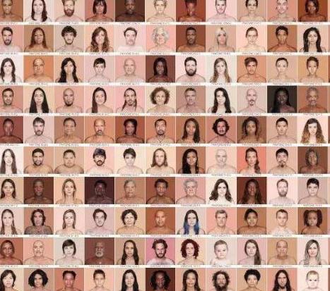 """人类肤色中有什么""""秘密""""肤色是开始与毛发脱落的时候吗?"""