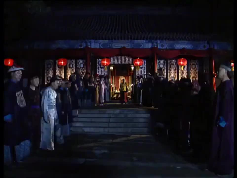 和坤过寿,皇上都去了怎能少了刘墉的贺礼,也只有刘墉才能做到