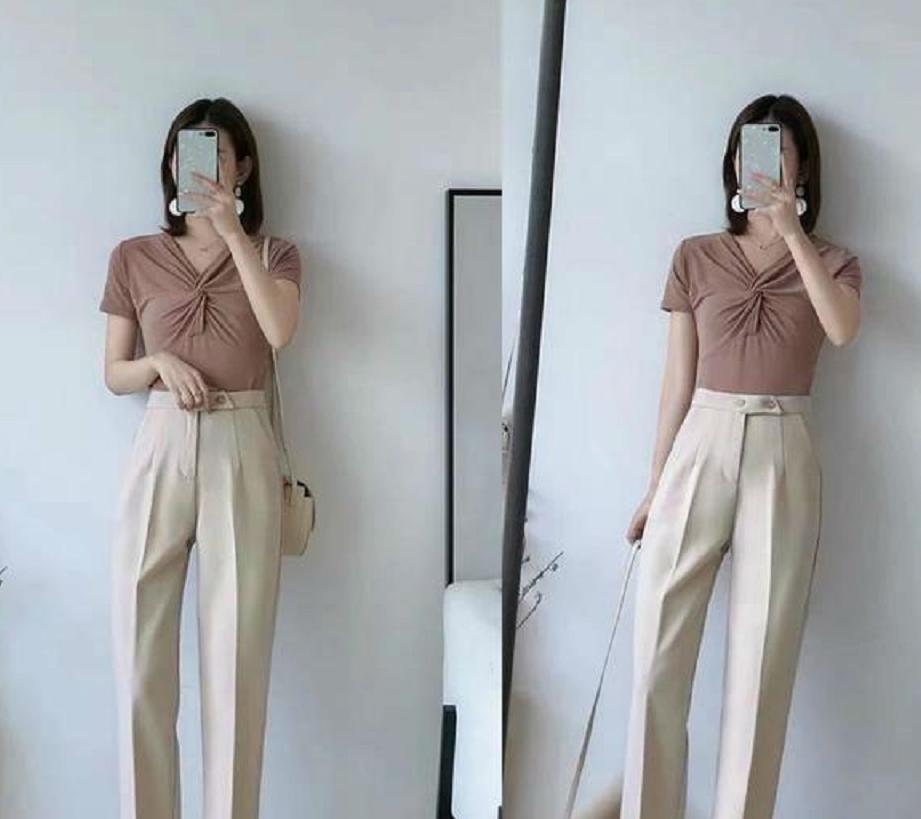 时尚好看的哈伦裤,如何在职场,穿出成熟女人味更显风情?