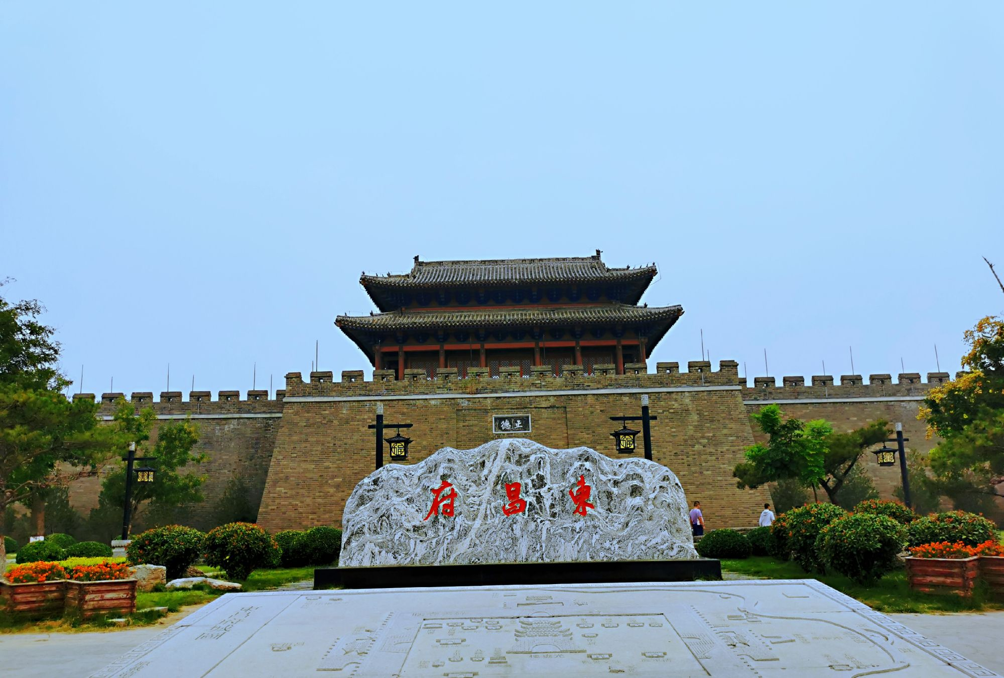 《水浒》《聊斋》描写过,江北水城,山东聊城东昌府