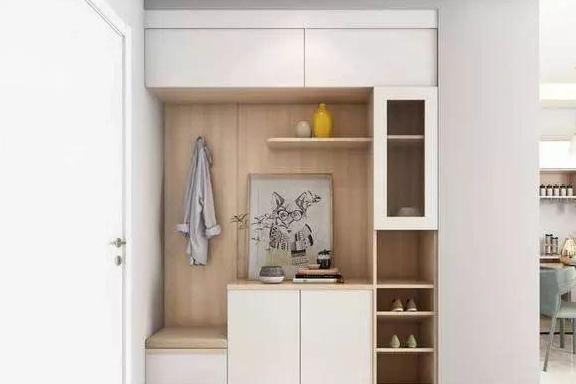 换鞋凳+鞋柜,才是玄关最明智的设计,不管住多少年都实用!
