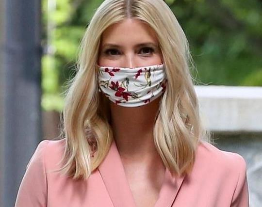 伊万卡换发型!新发型穿粉色西服套装气场全开,撞衫范冰冰也不输