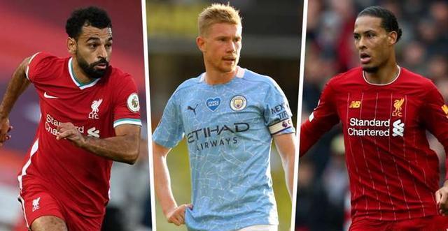 利物浦在英超的统治地位还在延续,其中6名球员入选了联赛最佳球员的名单