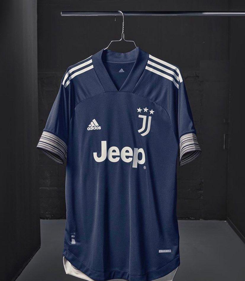 深蓝旋律!尤文图斯发布新赛季客场球衣 C罗迪巴拉帅气出镜