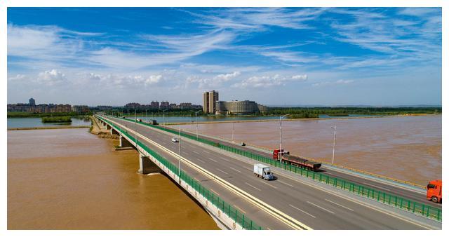 高清大图:瞰中卫黄河大桥