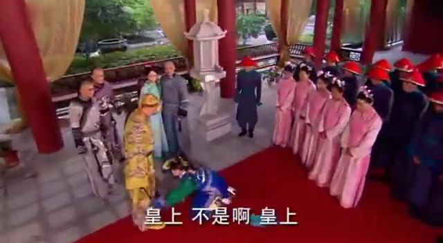 宫锁心玉:僖嫔当众被揭穿,被判处斩,她的荣华富贵在这一刻没了