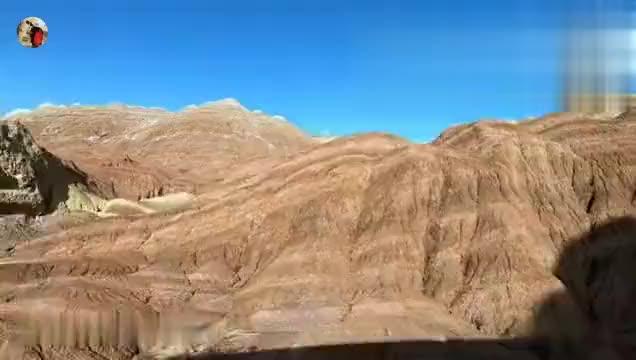 被称为世界地理十大神奇奇观之一的七彩丹霞,没加滤镜的实拍视频