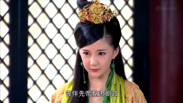 兰陵王在选妃,太后却把雪舞推了进去