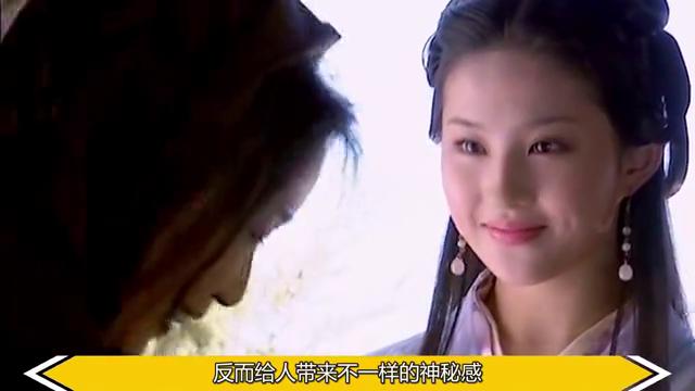 """古装剧中的""""蒙眼""""女星,杨幂美艳,赵丽颖灵动,而她令人心疼"""