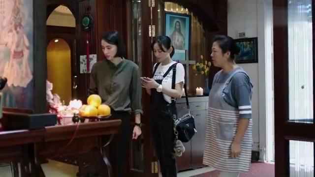 孙大庆家里摆放许多佛教用品,蔡文心发现不久前有人,保姆竟然!