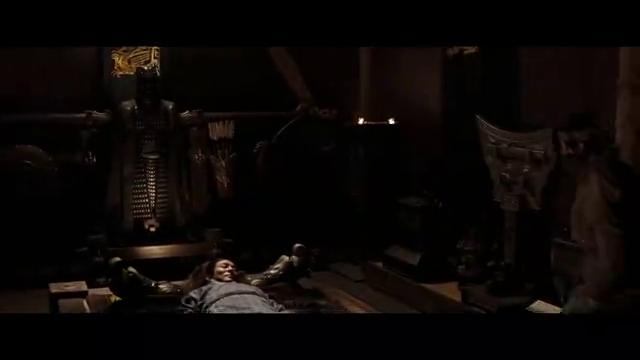 吴京与李连杰短剑互搏,无停顿打斗,招招致命