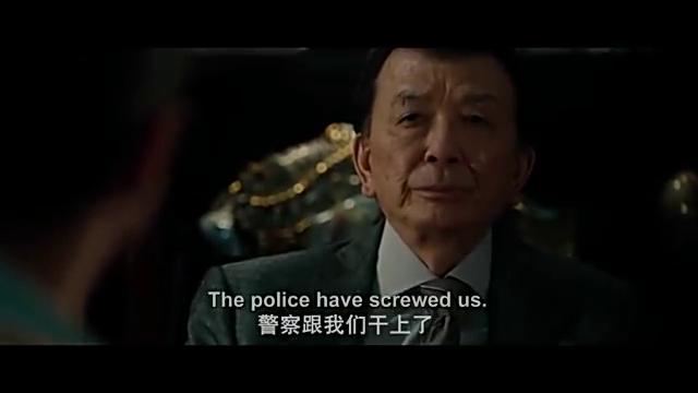 """美国警察撕毁约定对中国黑帮动手,黑帮一哥直接一句""""开打吧"""""""