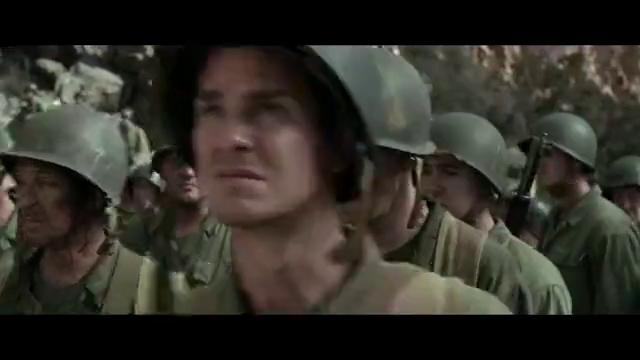 血战钢锯岭:看来日本人被洗脑的不清,喊着口号发起自杀式冲锋
