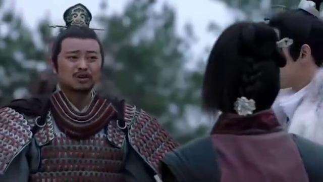 琅琊榜:戚猛脱口说出不利于靖王的话,被梅长苏瞪了