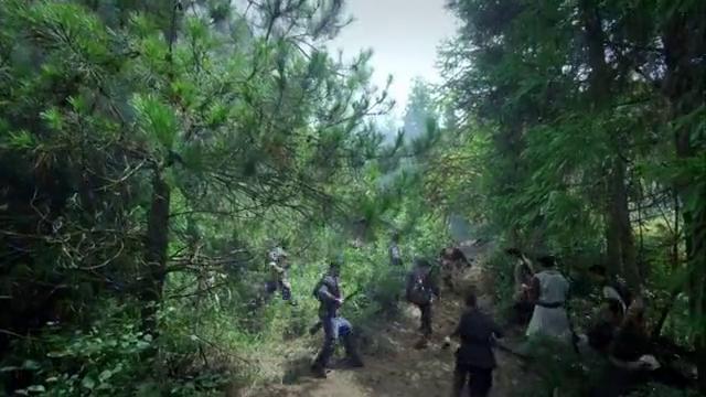 猎人突然变卦,不想跑路当怂包,决定要留在山上跟鬼子打游击
