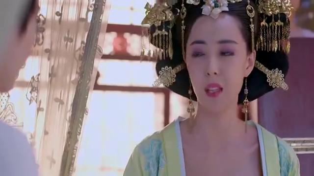 短发的武媚娘重返后宫,高阳公主给她准备金钗假发,倾国倾城