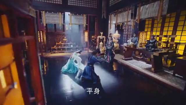 锦绣未央:叱云南和长乐见皇上,长乐装作温婉可人,赢得皇上好看