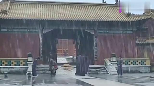 大明王朝:严世蕃眼光短浅,不知道嘉靖的厉害,严嵩气得把伞扔了