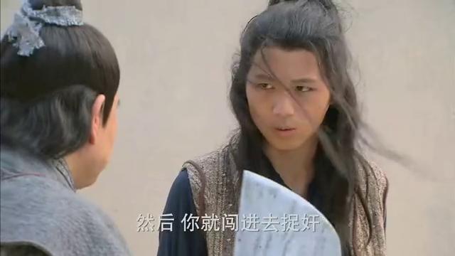 卖梨小伙拖住王干娘,武大郎趁机闯进茶肆,拿着刀去捉奸!