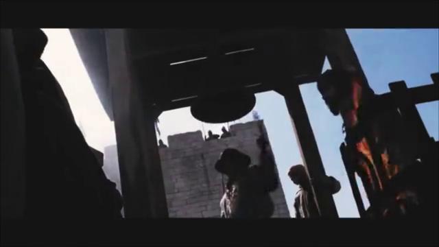 圣殿骑士攻击阿拉伯人被处死,推荐这部经典的好莱坞战争大片