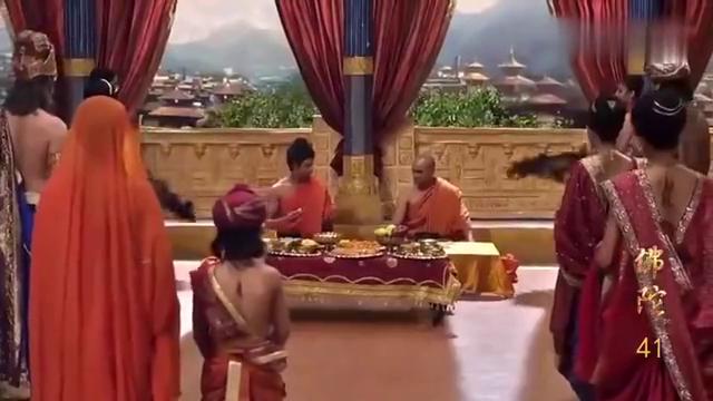 佛陀释迦牟尼回王宫只吃一个土豆,母后和妻子看到后泪流满面