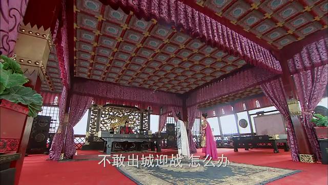 武则天口谕,白文豹和思思攻城后结婚,思思心里开心呢!