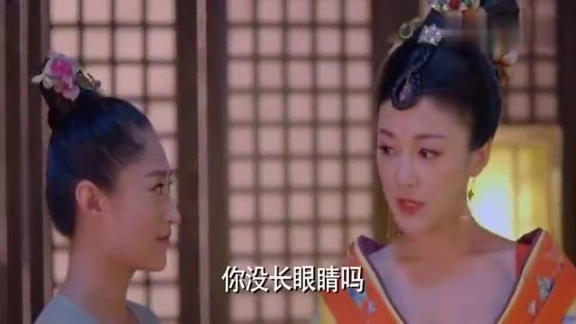 武媚娘传奇:皇上单独陪武媚娘看烟火,萧蔷嫉妒得要命,真是偏心