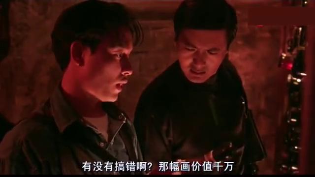 《纵横四海》经典片段,发哥国荣在入虎穴,上演神偷大作战