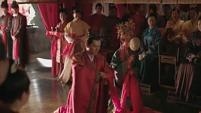 知否知否应是绿肥红瘦 冯绍峰赵丽颖结婚啦!也算俩人的中式婚礼