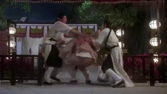 九品芝麻官:老板娘爆笑吵架,据说当时整个片场都笑翻了!
